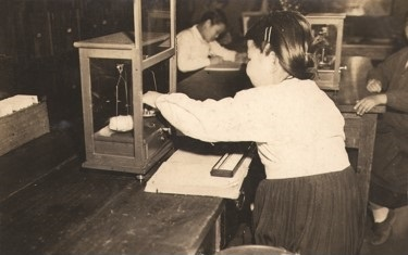 The initial Testing room